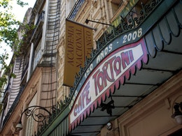 Café Tortoni, Buenos Aires, founded in 1858.