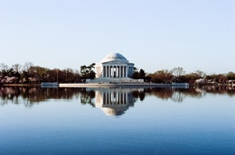 The Jefferson Memorial, Washington, DC.