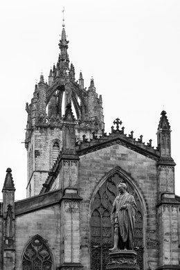 St. Giles' Cathedral in Edinburgh.