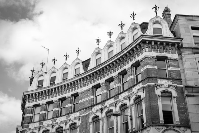 A building on Ludgate Hill, London.