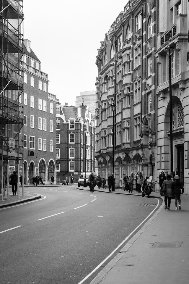Great Smith Street in Westminster, London.
