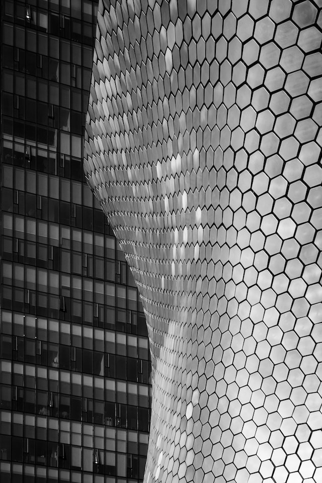 The Soumaya Museum in Mexico City.