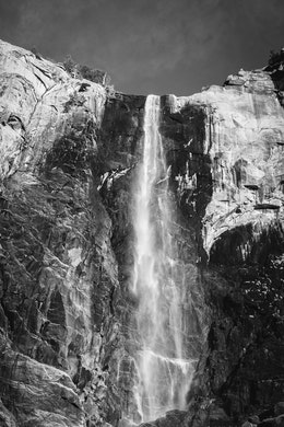 Bridalveil Fall, Yosemite National Park.