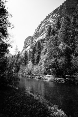 Tenaya Creek at Yosemite National Park.