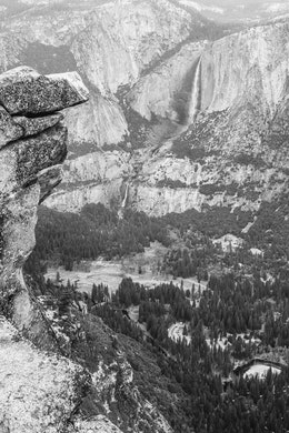 Yosemite Valley from Glacier Point.