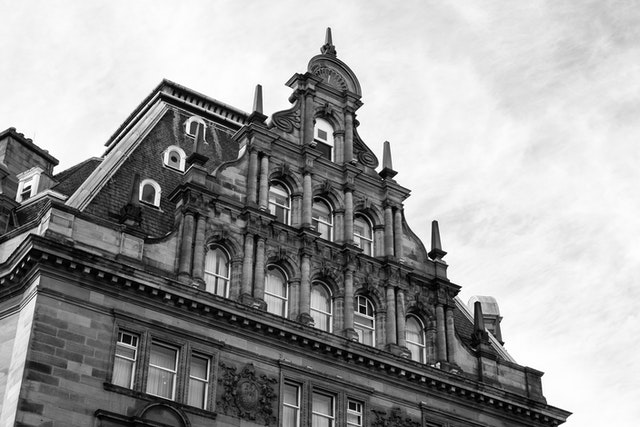 The Waldorf Astoria Caledonian Hotel, in Edinburgh.