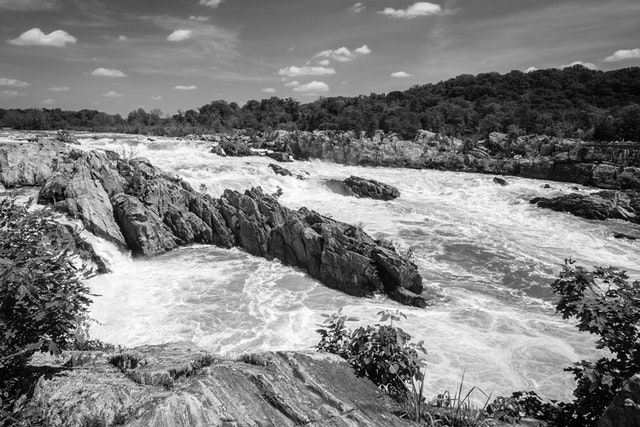 Great Falls, from the Virginia side.