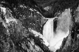 Yellowstone Falls, seen from Artist Point.