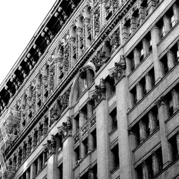 A building, somewhere in SoHo, New York City.