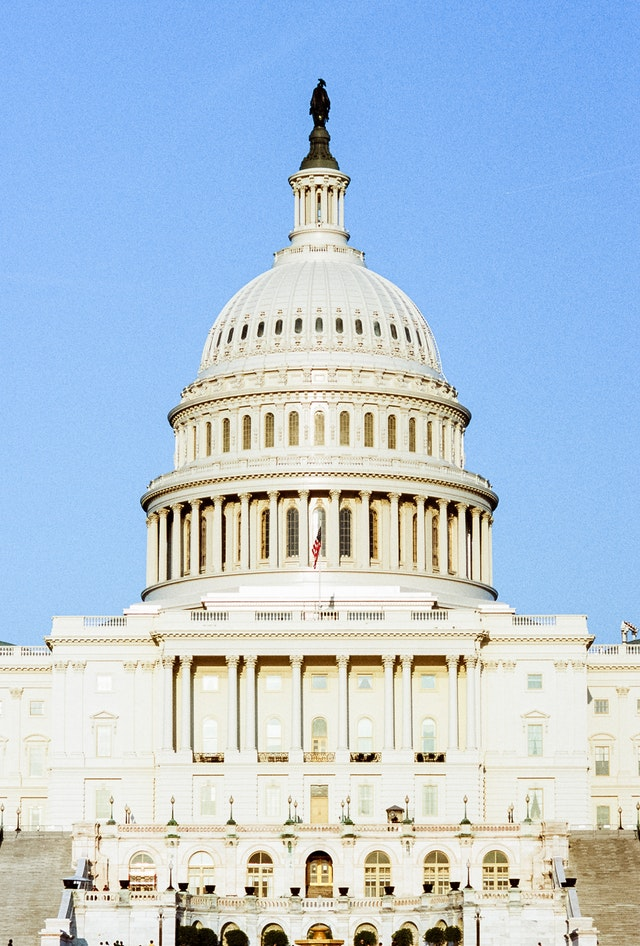 United States Capitol, East Front.