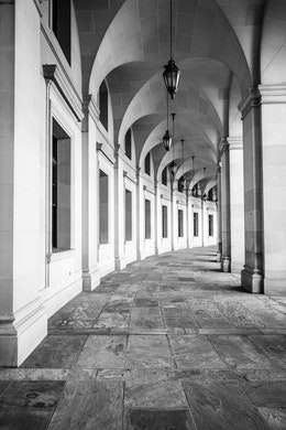 Columns and arches at the New Post Office building in Federal Triangle.