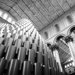 The Hive installation at the National Building Museum.
