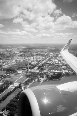 DC as seen from a plane departing DCA.