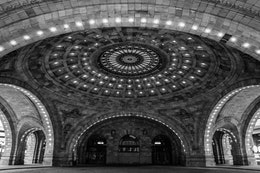 The Union Station rotunda in Pittsburgh.