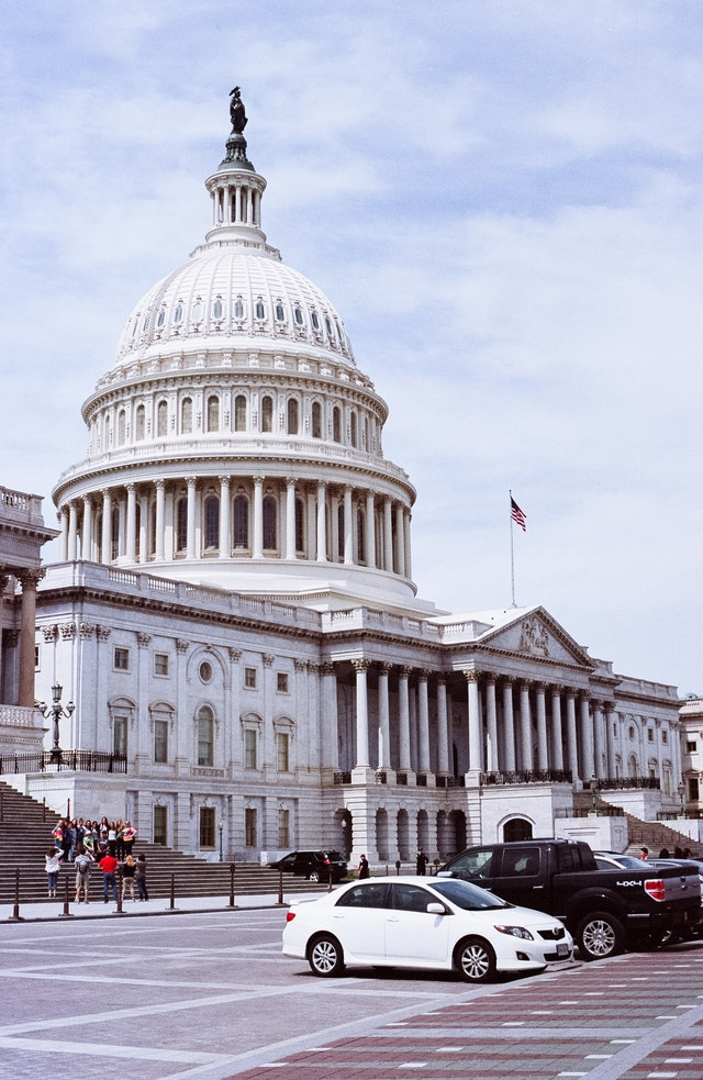 East Front of the United States Capitol.
