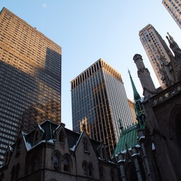 St. Patrick's Cathedral, New York City.