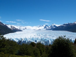 The Perito Moreno glacier from the pasarelas.
