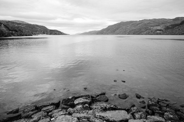 View of Loch Ness, from Fort Augustus.