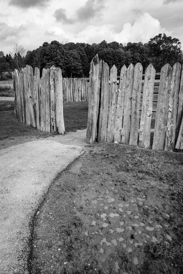 The path to Fort Necessity.