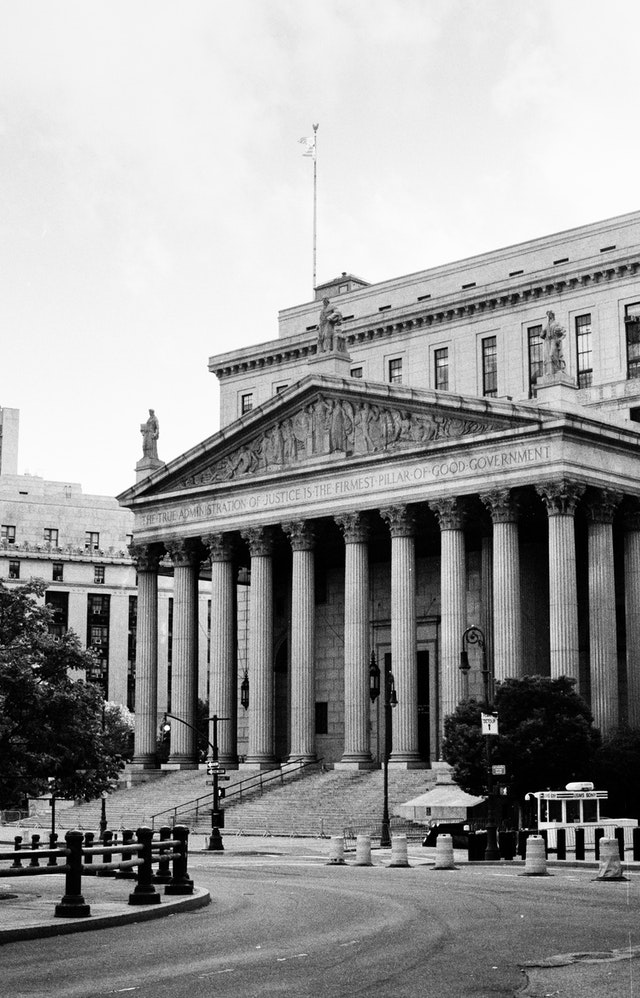 The New York State Supreme Court, New York City.