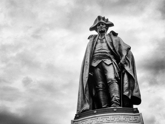 Baron von Steuben at Lafayette Square, Washington, DC.