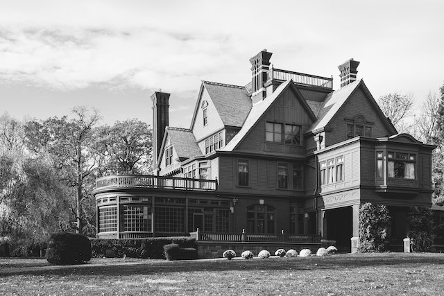 Glenmont, Thomas Alva Edison's home, in New Jersey.