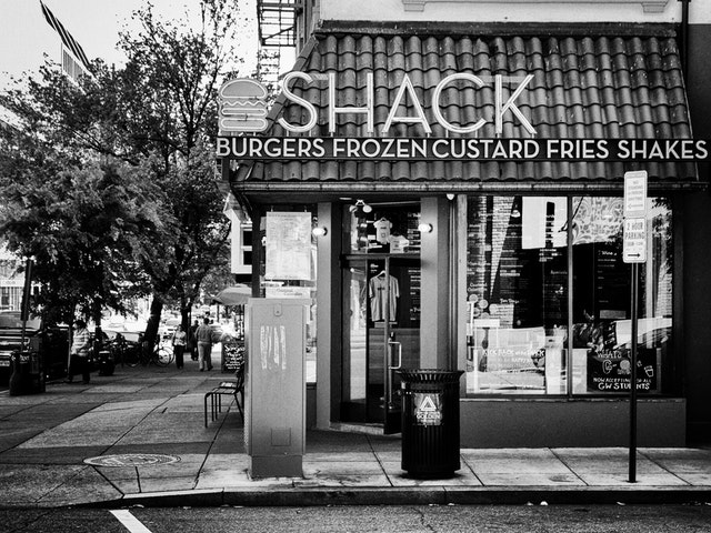 The Shake Shack on Dupont Circle.