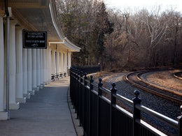 Valley Forge Train Station, Valley Forge National Historical Park.