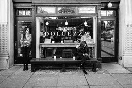 The storefront of Dolcezza on Connecticut Avenue NW.