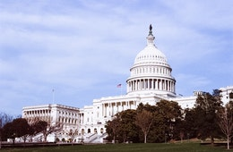 The United States Capitol, from the West Front.