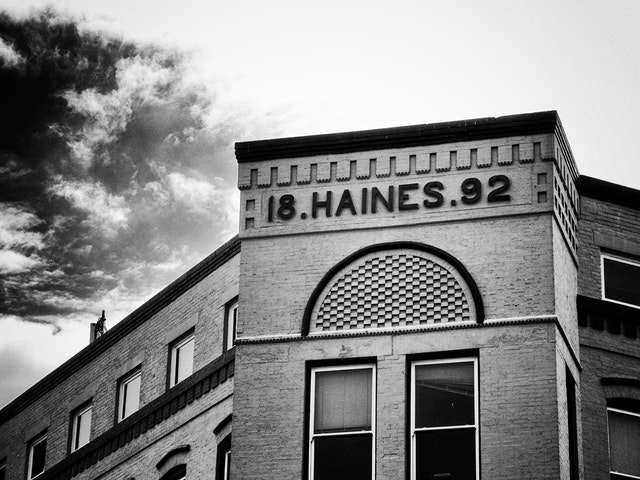 The old Haines Washington Store, 8th street SE.