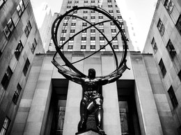 Atlas, Fifth Avenue, New York City.