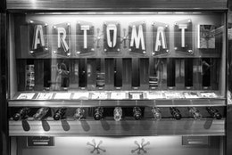 An Art-o-mat vending machine at the National Portrait Gallery in Washington, DC.