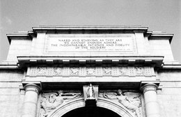 National Memorial Arch at Valley Forge.