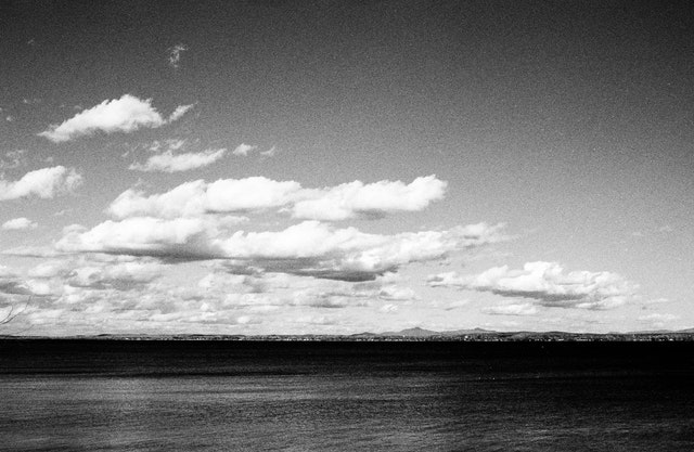 Lake Champlain, from Grand Isle State Park, VT.