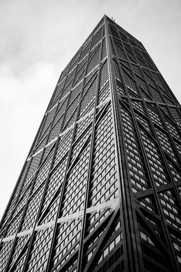 The John Hancock Center in Chicago.