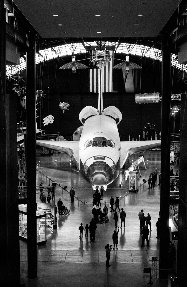 Discovery at the National Air and Space Museum's Udvar-Hazy Center.