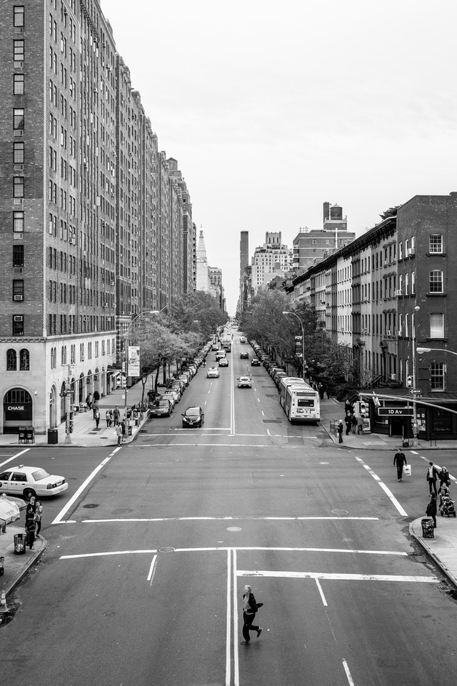 23rd Street, from the High Line.