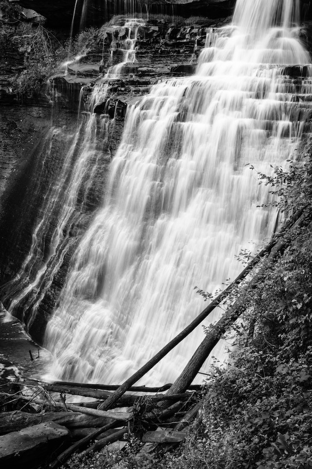 Brandywine Falls at Cuyahoga Valley National Park in Ohio.