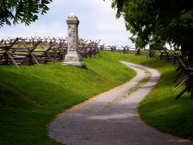 Bloody Lane, Antietam National Battlefield.