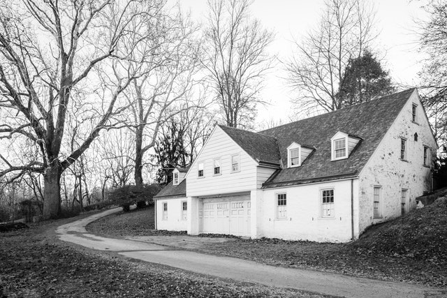 A building in the Knox Estate in Valley Forge.