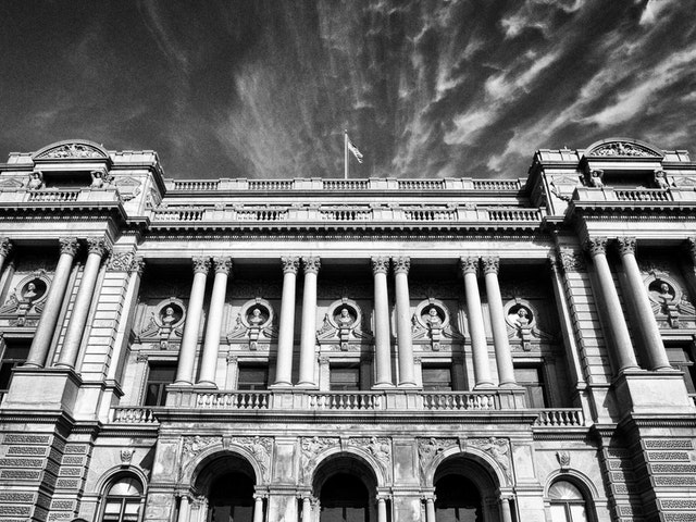 The Jefferson Building of the Library of Congress.