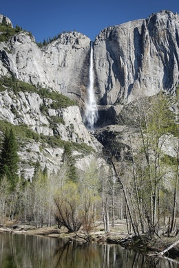 Upper Yosemite Fall at Yosemite National Park.