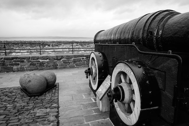Mons Meg, at Edinburgh Castle.