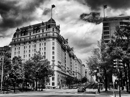The Willard Hotel, on 14th St & Pennsylvania Ave NW