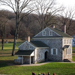 George Washington's headquarters at Valley Forge.