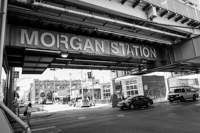 Morgan Station in the West Loop, Chicago.