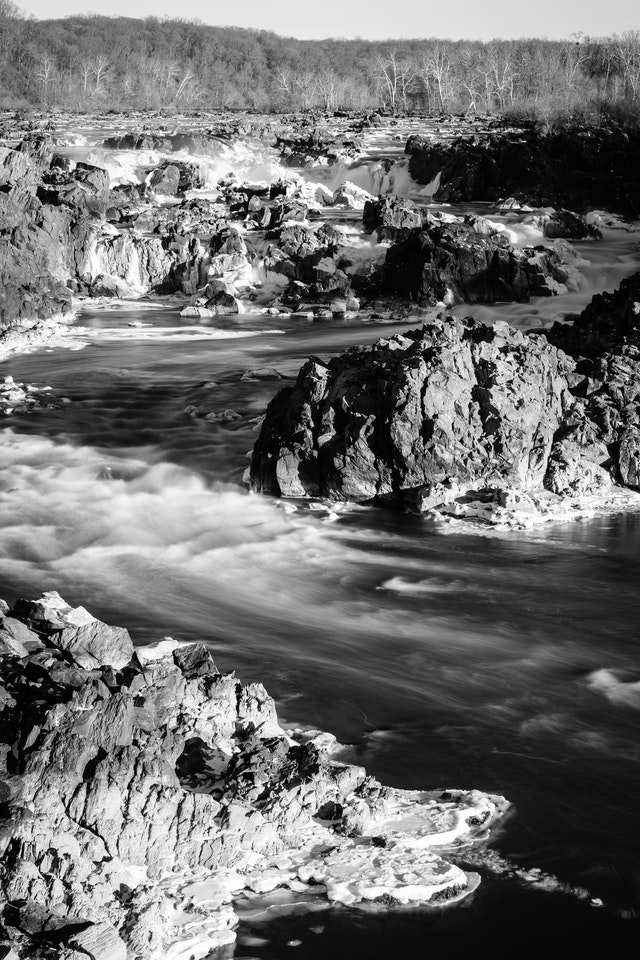 Great Falls, from the second overlook on the Virginia side.