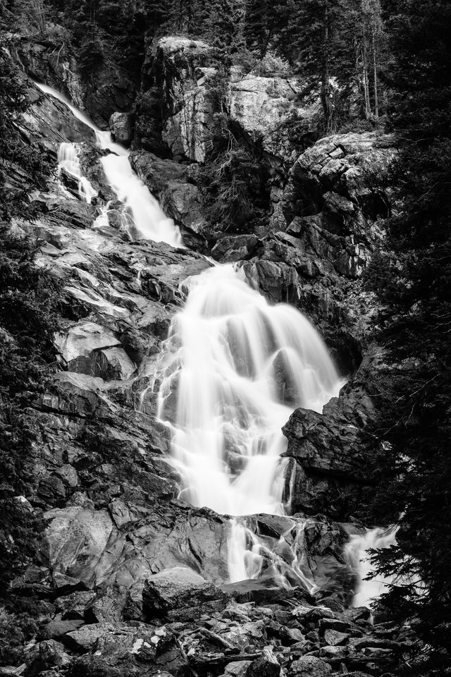 Hidden Falls, in Grand Teton National Park.