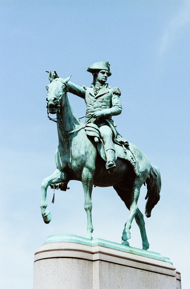 Statue of Nathanael Greene at Stanton Park.